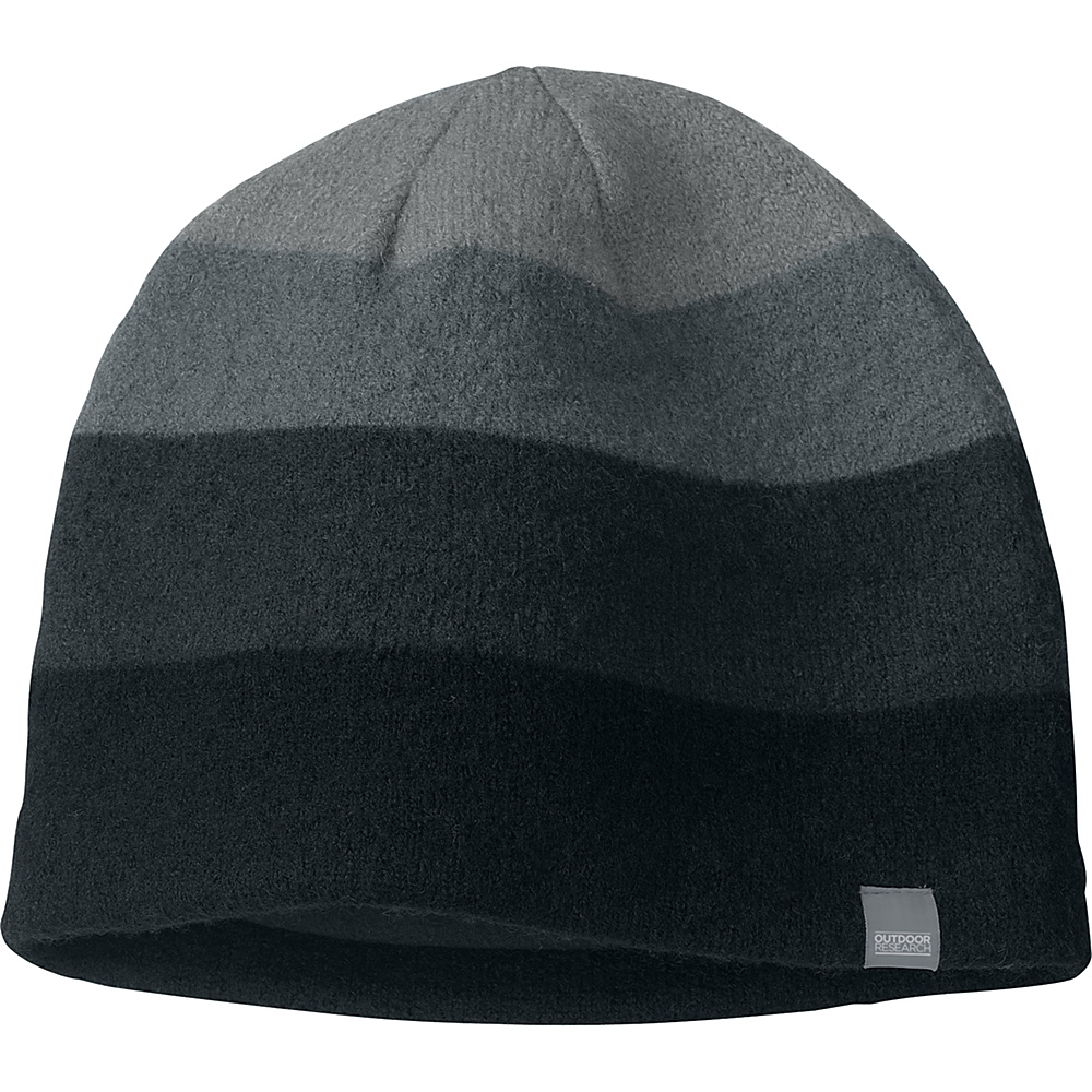 Outdoor Research Gradient Hat Mens One Size - Black/Charcoal - Outdoor Research Hats/Gloves/Scarves - Fashion Accessories, Hats/Gloves/Scarves