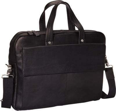 """Mancini Leather Colombian Leather Slim 17"""" Laptop/Tablet ..."""
