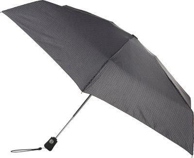 Totes toes Traveler Houndstooth - Totes Umbrellas and Rain Gear