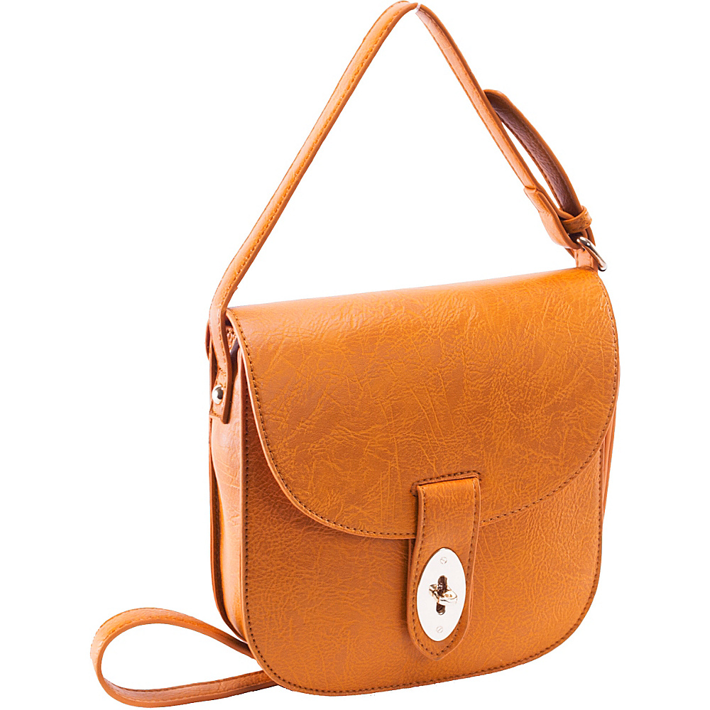 Parinda Maya Mustard Tan - Parinda Leather Handbags