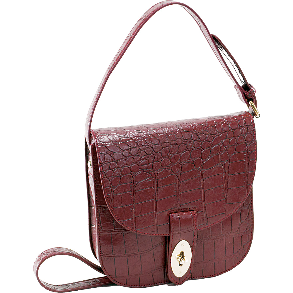 Parinda Maya Wine - Parinda Manmade Handbags