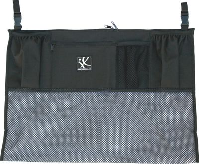J.L. Childress Double Cargo Double Stroller Organizer Black - J.L. Childress Diaper Bags & Accessories