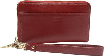 TUSK LTD Madison Smartphone Zip Wristlet Red - TUSK LTD Women's Wallets