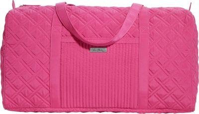 Vera Bradley Large Duffel - Solid Deep Pink - Vera Bradley All Purpose Duffels