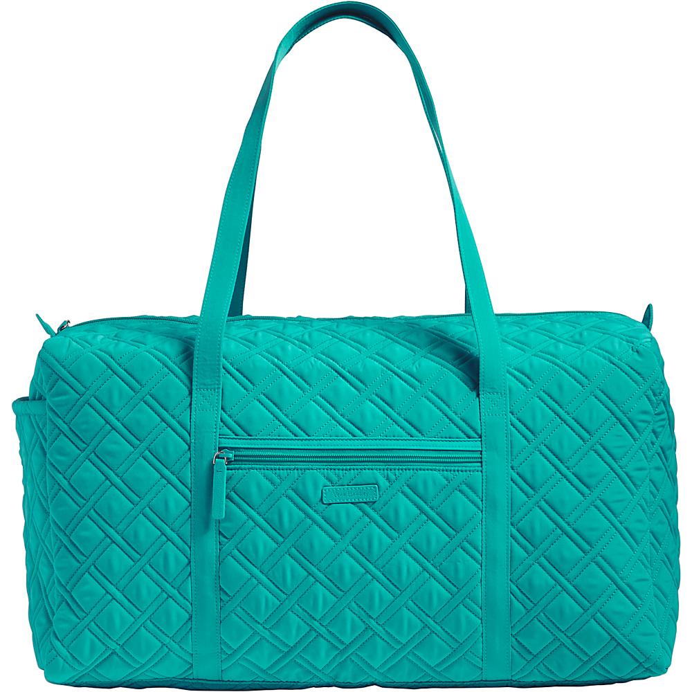 Vera Bradley Large Duffel - Solid Turquoise Sea - Vera Bradley Travel Duffels - Duffels, Travel Duffels
