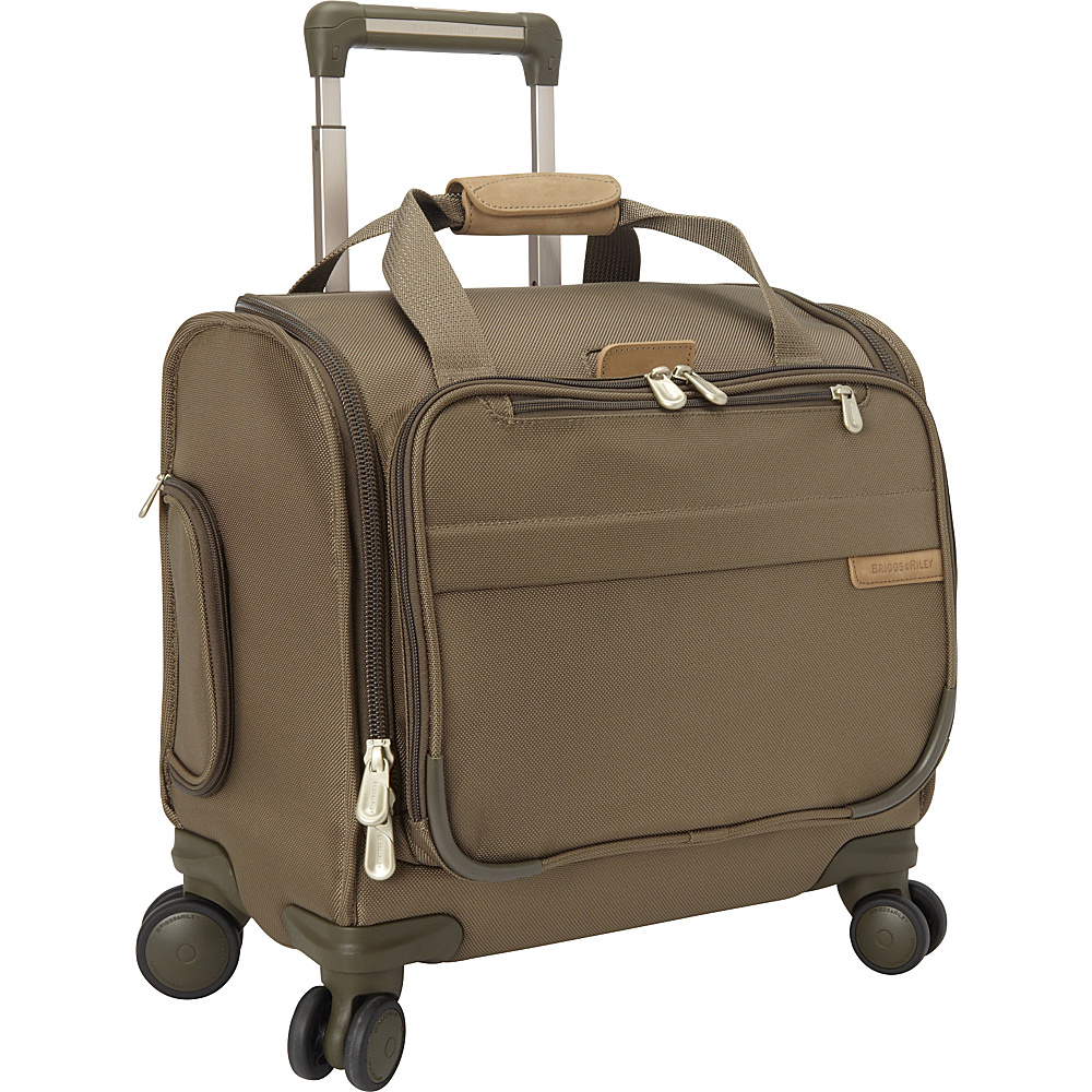Briggs & Riley Cabin Spinner Olive - Briggs & Riley Softside Carry-On