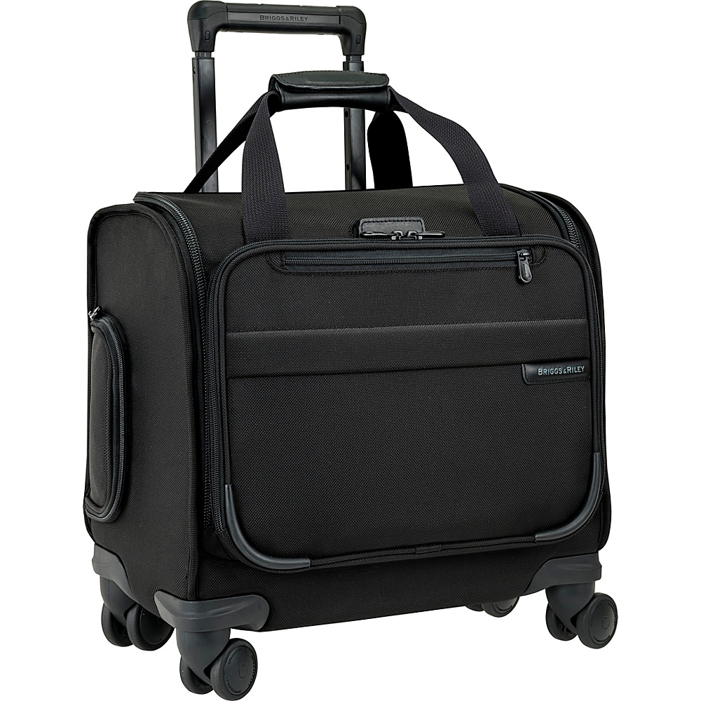 Briggs & Riley Cabin Spinner Black - Briggs & Riley Softside Carry-On
