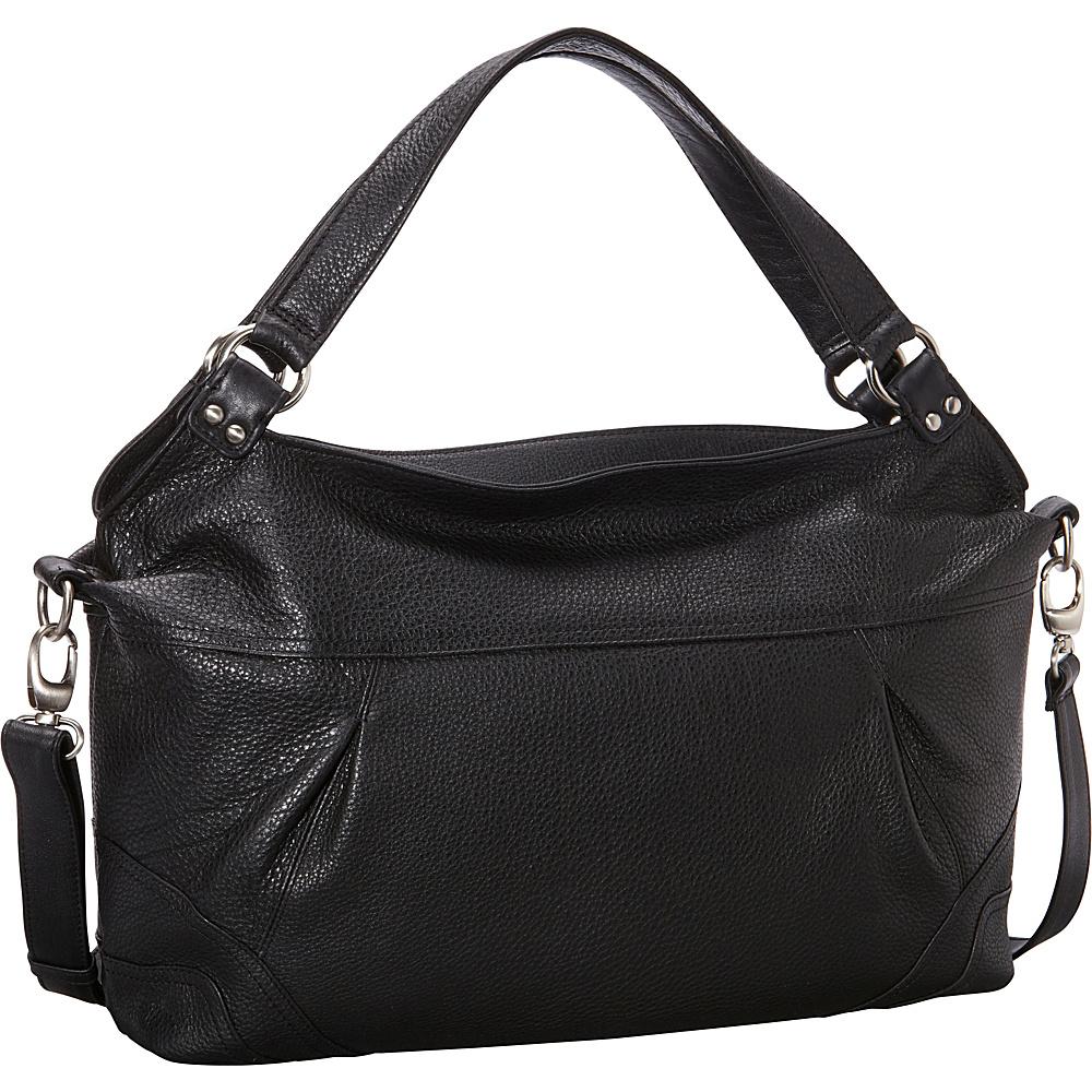 Derek Alexander EW Top Zip Shoulder Bag 3 Colors Leather ...