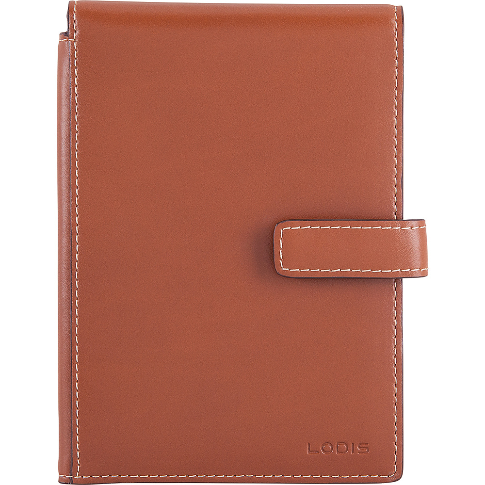Lodis Audrey RFID Passport Wallet with Ticket Flap Sequoia/Papaya - Lodis Travel Wallets - Travel Accessories, Travel Wallets