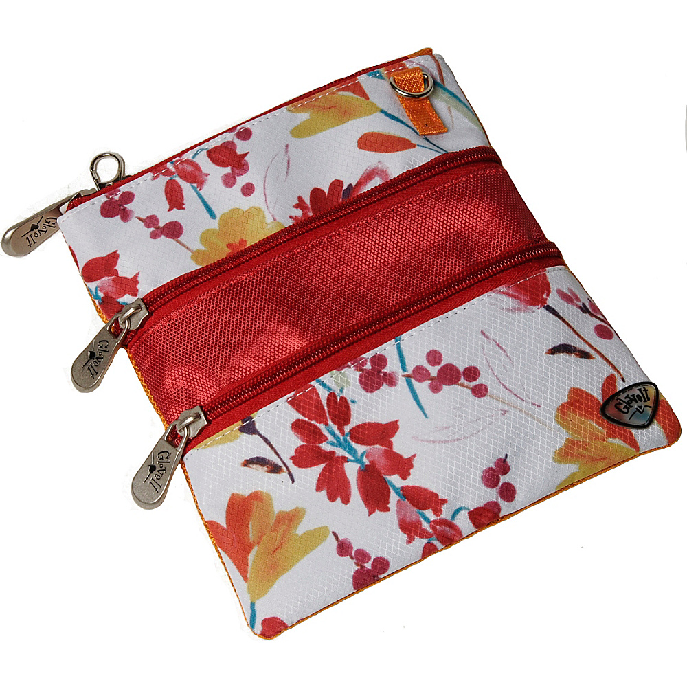 Glove It 3 Zip Bag Poppy Glove It Fabric Handbags