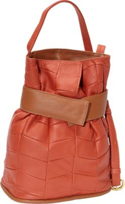 J. P. Ourse & Cie. Madison Patchwork Curry/Tan - J. P. Ourse & Cie. Leather Handbags