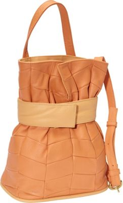 J. P. Ourse & Cie. Madison Patchwork Tangerine/Butter - J. P. Ourse & Cie. Leather Handbags