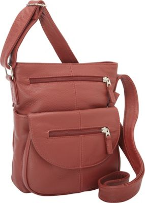 J. P. Ourse & Cie. Lenox Berry Red - J. P. Ourse & Cie. Leather Handbags