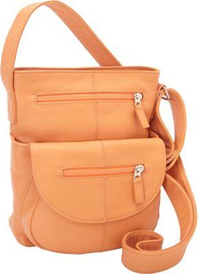 J. P. Ourse & Cie. Lenox Tangerine - J. P. Ourse & Cie. Leather Handbags