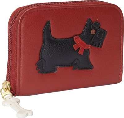 J. P. Ourse & Cie. Zip Wallet Scottie - J. P. Ourse & Cie. Women's Wallets