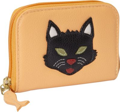 J. P. Ourse & Cie. Zip Wallet Kitty - J. P. Ourse & Cie. Women's Wallets