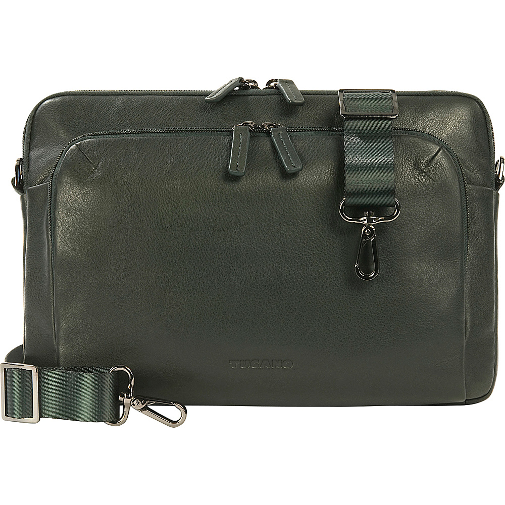 Tucano One Premium MacBook Air Sleeve Dark Green Tucano Electronic Cases