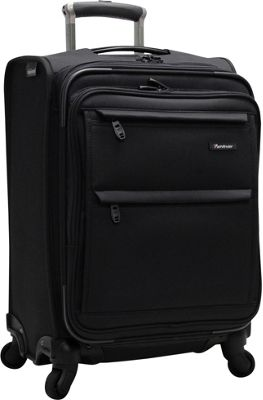 Pathfinder Revolution Plus 20 inch Intl Exp Carry On Black - Pathfinder Softside Carry-On