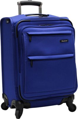 Pathfinder Revolution Plus 20 inch Intl Exp Carry On Blue - Pathfinder Softside Carry-On