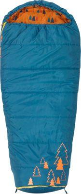 Kelty Big Dipper 30 Degree Sleeping Bag -  Short Right-Hand Ocean - Kelty Outdoor Accessories