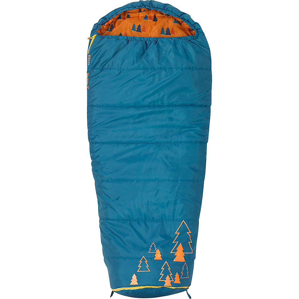 Kelty Big Dipper 30 Degree Sleeping Bag Short Right Hand Ocean Kelty Outdoor Accessories