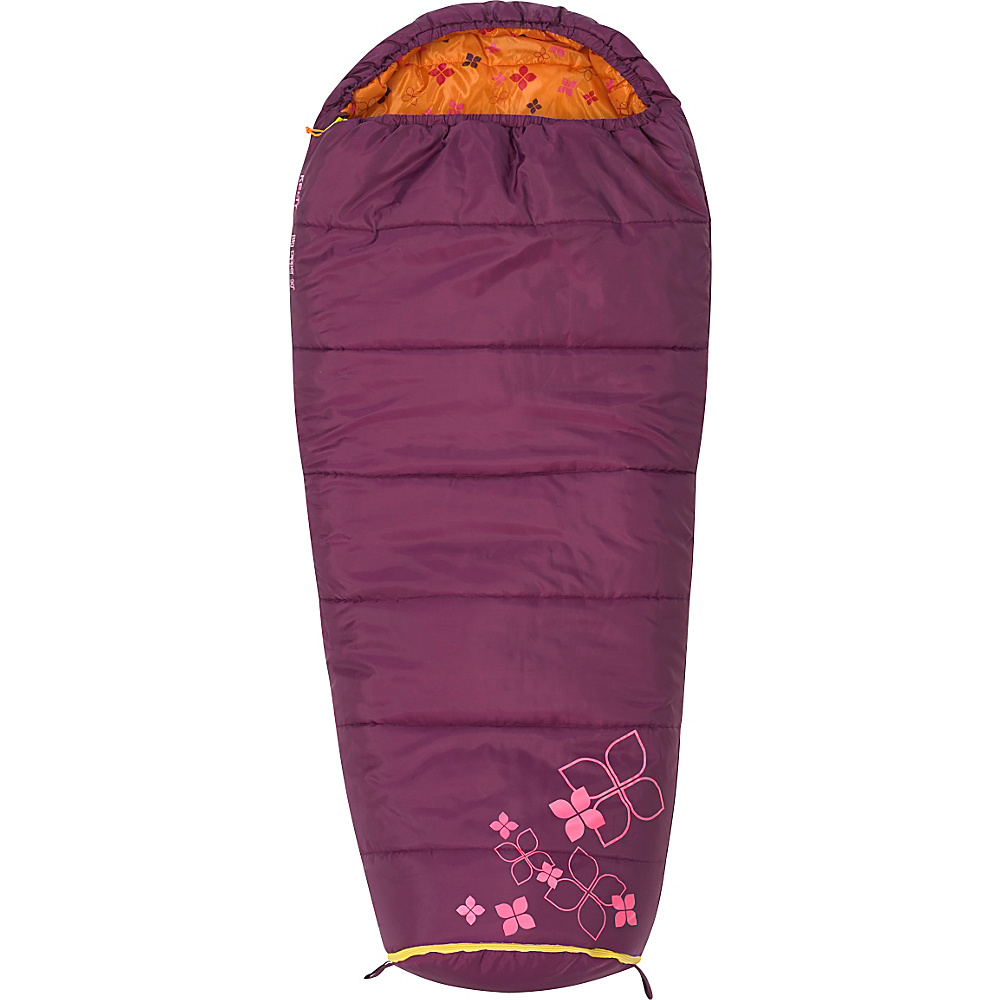 Kelty Big Dipper 30 Degree Sleeping Bag Short Right Hand Purple Potion Kelty Outdoor Accessories