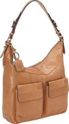 Ellington Handbags Riley Hobo Sand - Ellington Handbags Leather Handbags