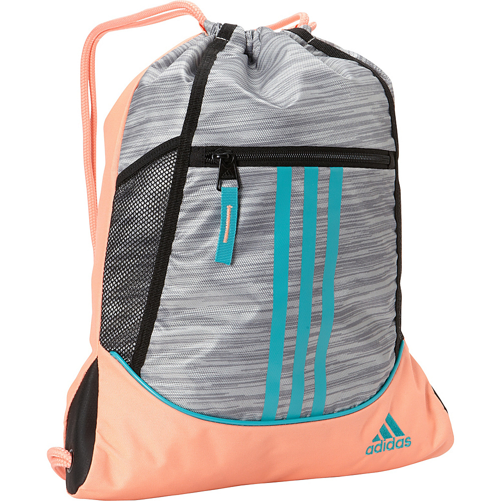 13d86e8ff ... UPC 716106774690 product image for adidas Alliance II Sackpack Clear  Onix Space Dye / Sun Glow ...