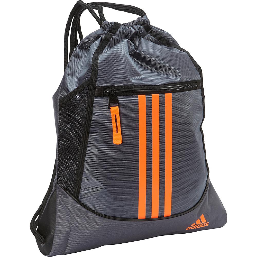 adidas Alliance II Sackpack Deepest Space/Solar Orange - adidas Everyday Backpacks