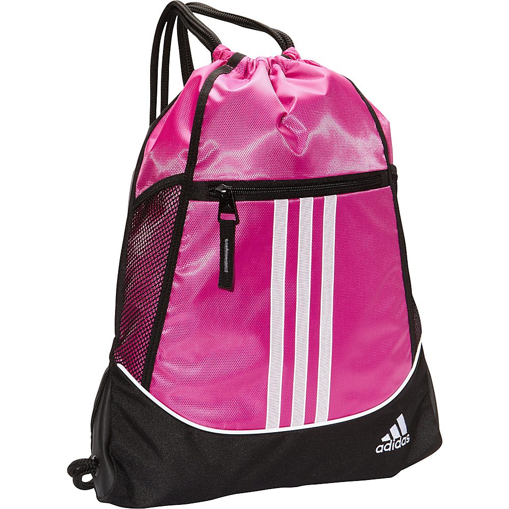 adidas Alliance II Sackpack Intense Pink - adidas School & Day Hiking Backpacks