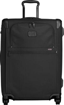 Tumi Alpha 2 Short Trip Expandable 4 Wheeled Packing Case Black - Tumi Softside Checked