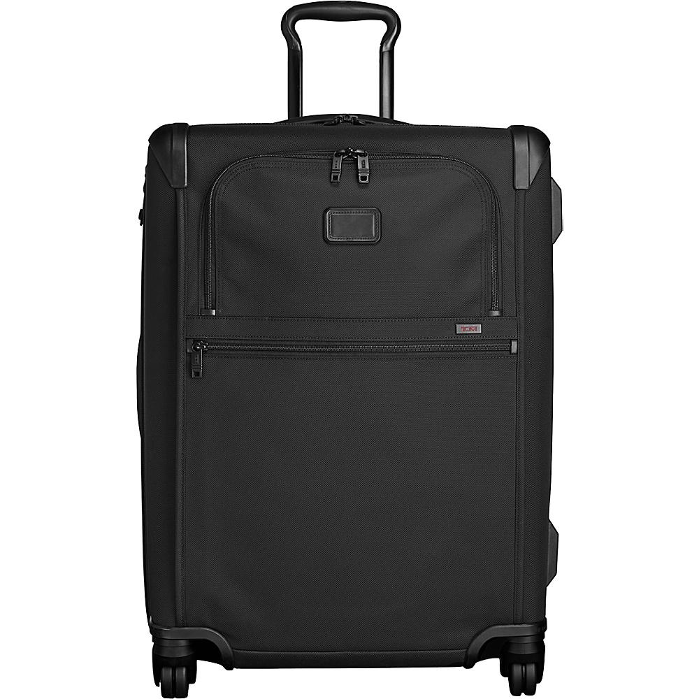 Tumi Alpha 2 Short Trip Expandable 4 Wheeled Packing Case Black - Tumi Softside Checked - Luggage, Softside Checked