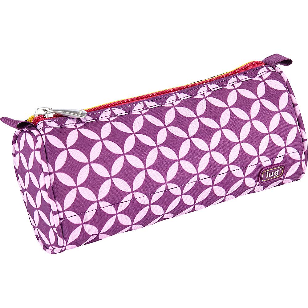 Lug Scribble Pencil Case Plum Owl - Lug Ladies Purse Accessories