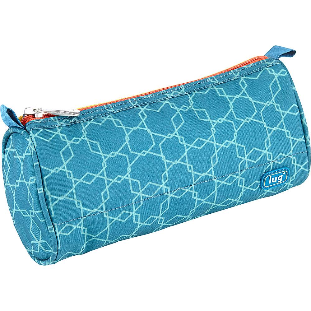 Lug Scribble Pencil Case Aqua Elephant - Lug Ladies Purse Accessories