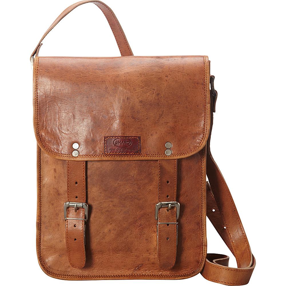 Sharo Leather Bags Cross Body Messenger Bag Brown Sharo Leather Bags Leather Handbags