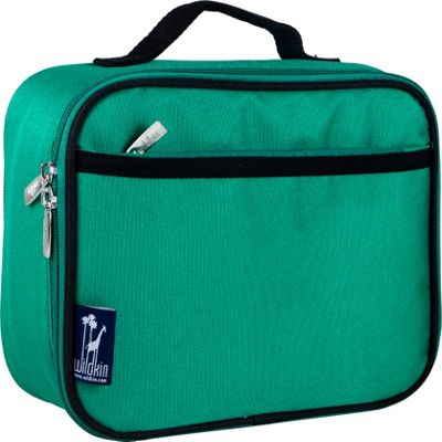 Wildkin Emerald Green Lunch Box Emerald Green - Wildkin Travel Coolers