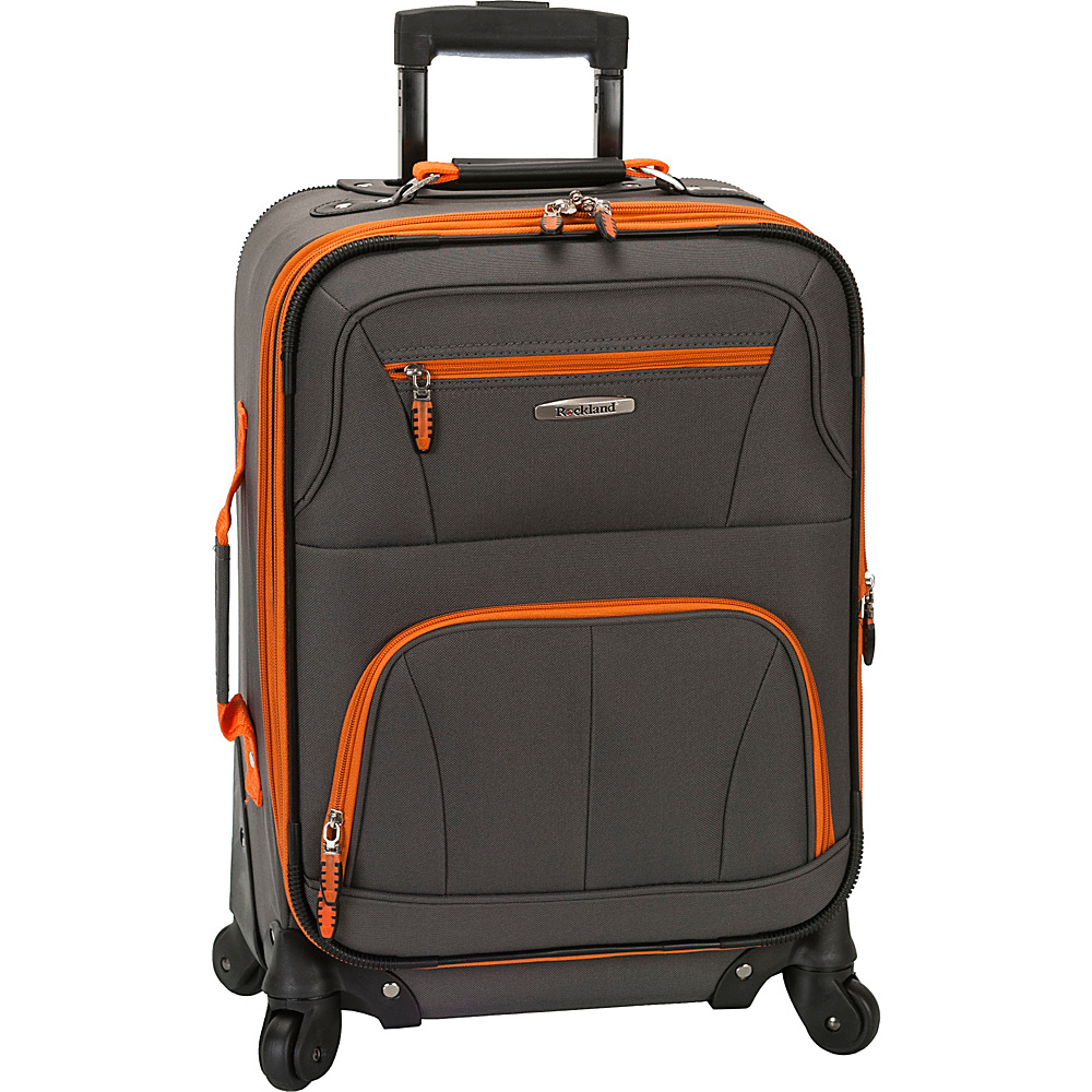 Rockland Luggage Pasadena Expandable Carry-On Luggage ...