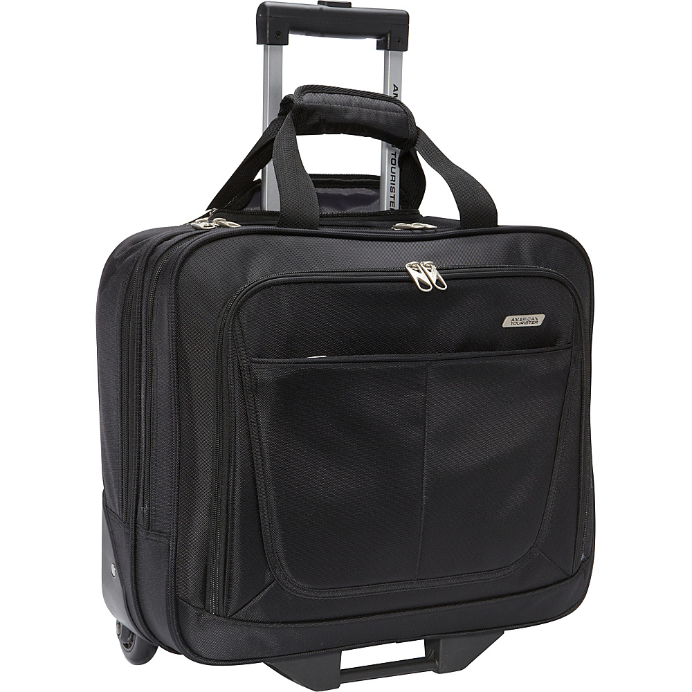 American tourister wheeled mobile office exclusive wheeled business case new ebay - American tourister office bags ...