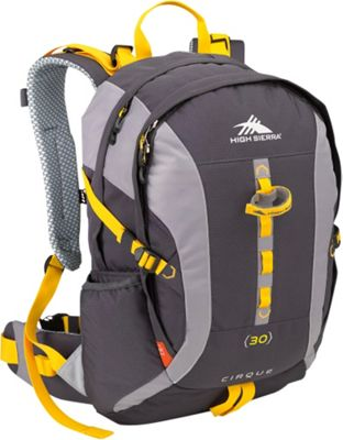 High Sierra Cirque 30 Mercury/Ash/Yell-O - High Sierra Day Hiking Backpacks