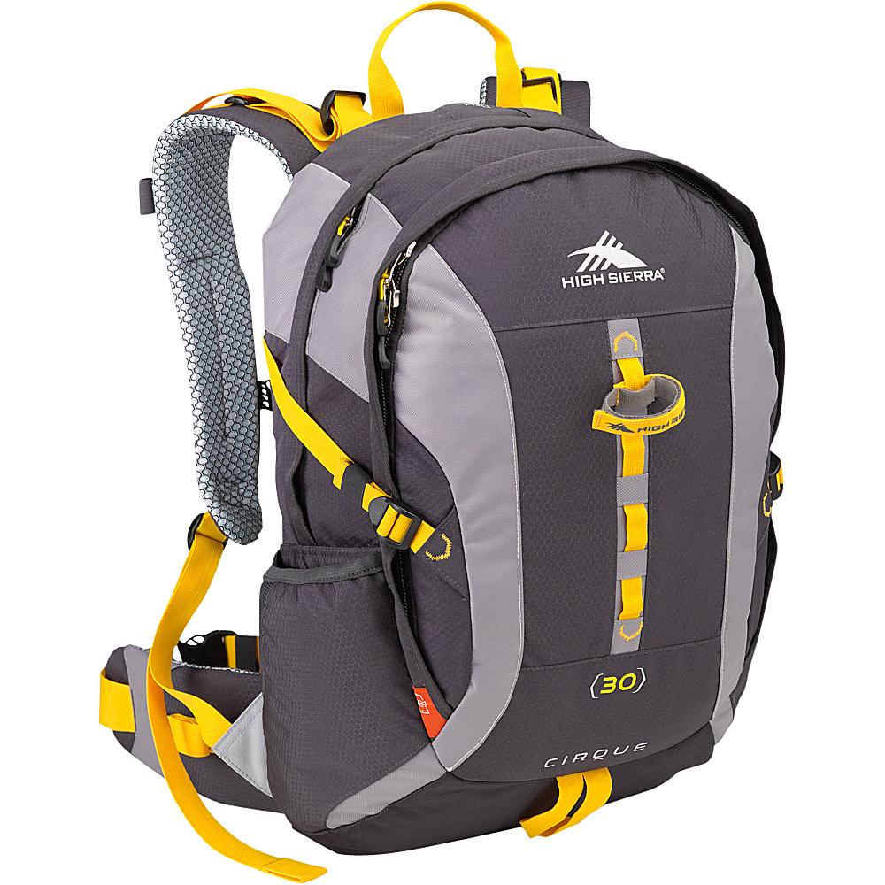 High Sierra Cirque 30 Mercury Ash Yell O High Sierra Day Hiking Backpacks