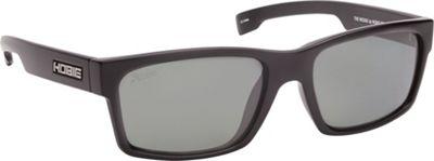 Hobie Eyewear The Wedge Sunglasses Satin Black Frame / Grey Polarized PC Lens - Hobie Eyewear Sunglasses