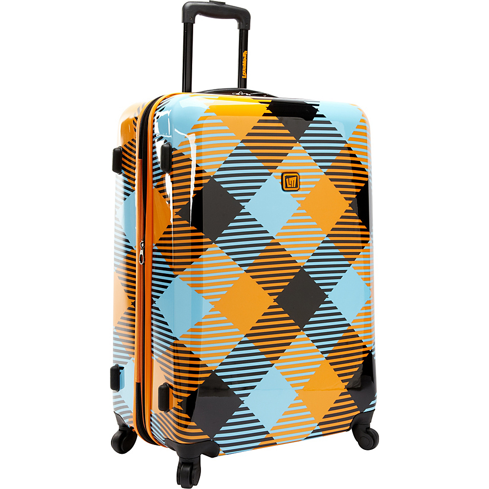 "Loudmouth Microwave 29"" Hard sided Expandable Spinner Multi-Color - Loudmouth Hardside Luggage"