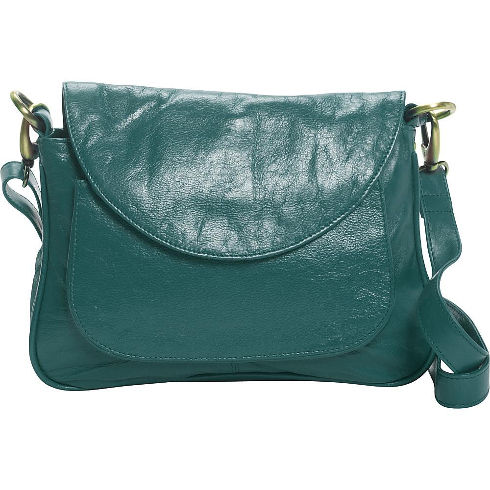 Latico Leathers Sabria Shoulder Bag Jade - Latico Leathers Leather Handbags - Handbags, Leather Handbags