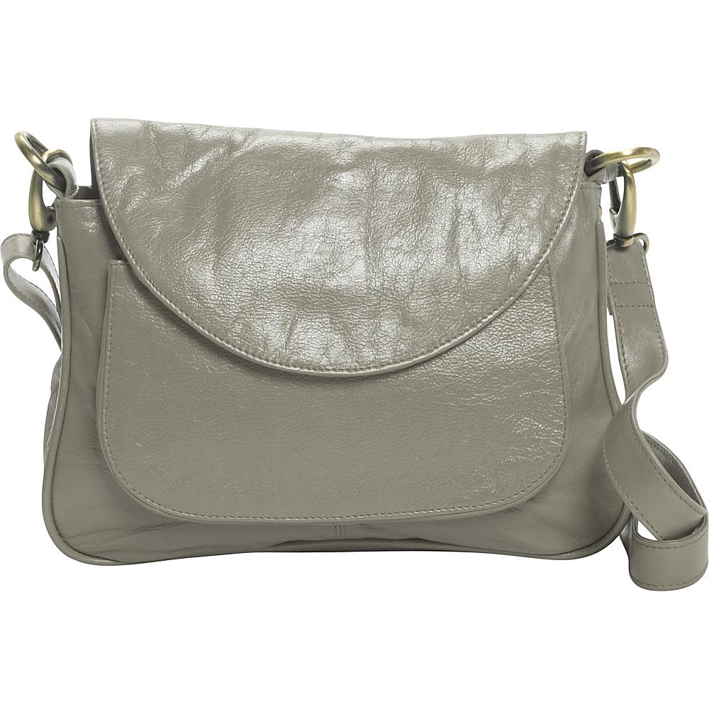 Latico Leathers Sabria Shoulder Bag Stone - Latico Leathers Leather Handbags - Handbags, Leather Handbags