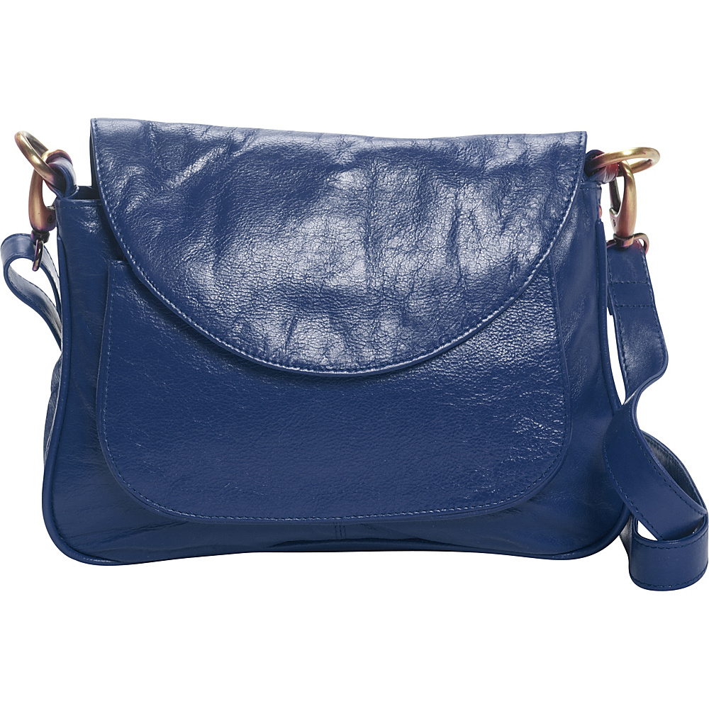 Latico Leathers Sabria Shoulder Bag Marine - Latico Leathers Leather Handbags - Handbags, Leather Handbags