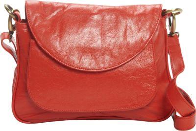 Latico Leathers Sabria Shoulder Bag Poppy - Latico Leathers Leather Handbags