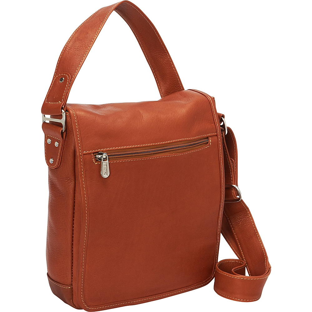 Piel iPad/Tablet Shoulder Bag Saddle - Piel Other Mens Bags - Work Bags & Briefcases, Other Men's Bags