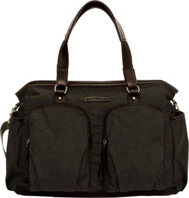 TWELVElittle Unisex Courage Tote Black - TWELVElittle Diaper Bags