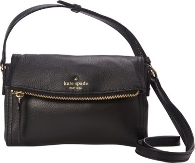 kate spade new york Cobble Hill Mini Carson Crossbody Bag Black - kate spade new york Designer Handbags