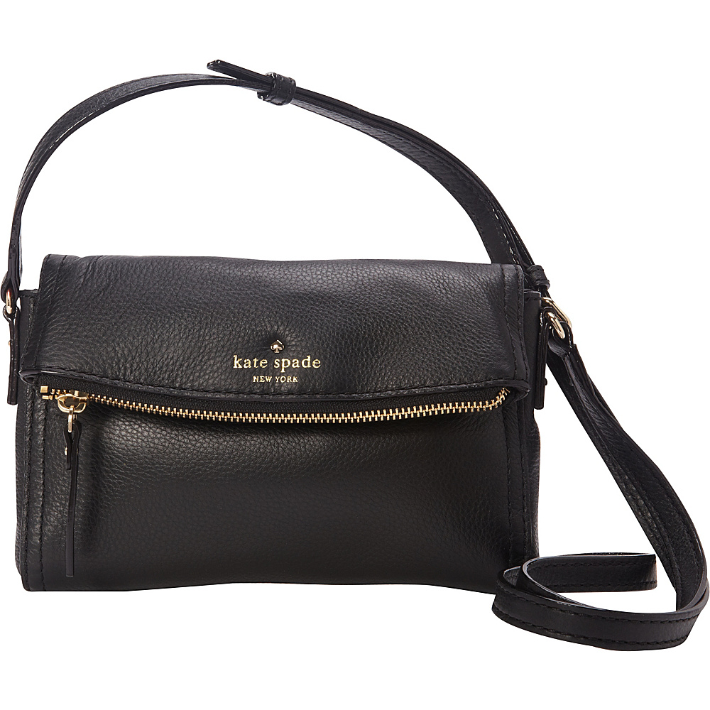 Totes Shoulder Bags Travel Briefcases Clutcheore Kate Spade New York Cobble Hill Mini Carson Crossbody Bag Black